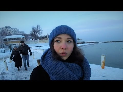 Why i came to ODESSA in winter. VLOG :)