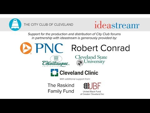 Watch the 2018 State of the Great Lakes live at the City Club of Cleveland