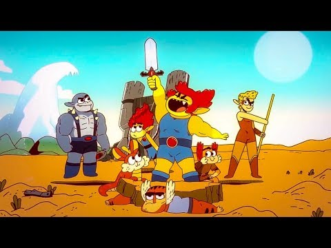 Thundercats Roar Official First Look Trailer 2019 Hd Youtube