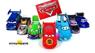 Disney Cars Tokyo Drift Light Up Die-Cast Deluxe Lightning McQueen