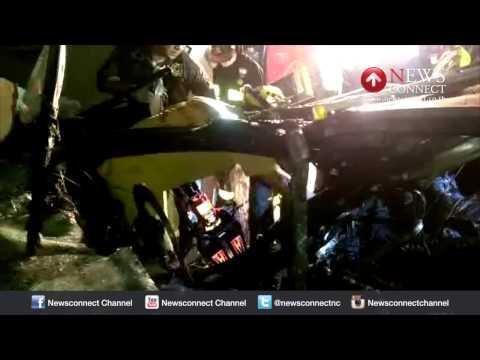 สังเวย 4 ศพ ซิ่งหลุดโค้งหน้ารพ.บางนา 3 : NewsConnect Channel