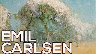 Emil Carlsen: A collection of 183 paintings (HD)