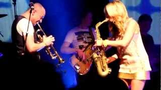 Candy Dulfer & Band Live - Sax A Go Go @Metropool Hengelo 2012