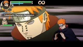 Naruto Shippuden Ultimate Ninja Impact Walkthrough Part 66 Pain's Attack (60 FPS)