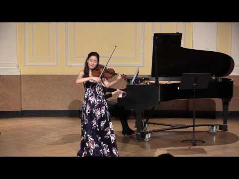 Ji Won Song plays Chopin Nocturne in c sharp minor (Arr. Milstein)