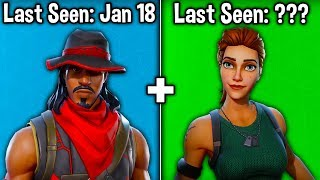 10 SKINS YOU DIDN'T KNOW ARE RARE in SEASON 10! (Fortnite Rarest Skins)