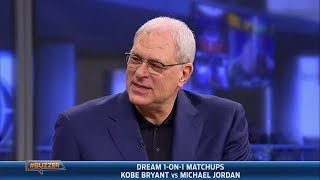 Phil Jackson settles the Jordan vs. Bryant debate (2014.01.23)
