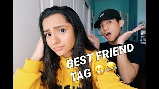 Best Friend Tag w/ Gabe De Guzman | Challenge #2 | 1.7.18