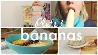 Wir lieben Bananen! bananagirl - bananadiet - Top5 Lebensmittel