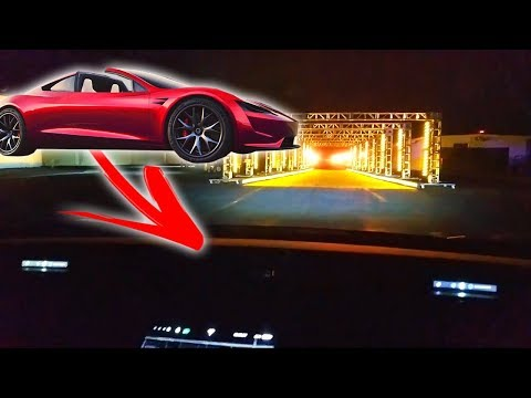 """New Tesla Roadster: 0-60 in 1.9 Seconds (In-Car View of """"Plaid Mode"""")"""