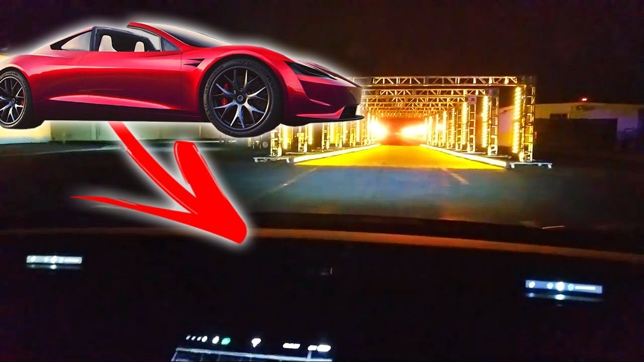 New Tesla Roadster 0 60 In 1 9 Seconds In Car View Of
