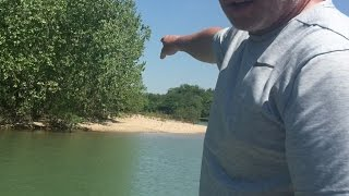 RECORDED LIVE! Where to look for White Bass in creeks!
