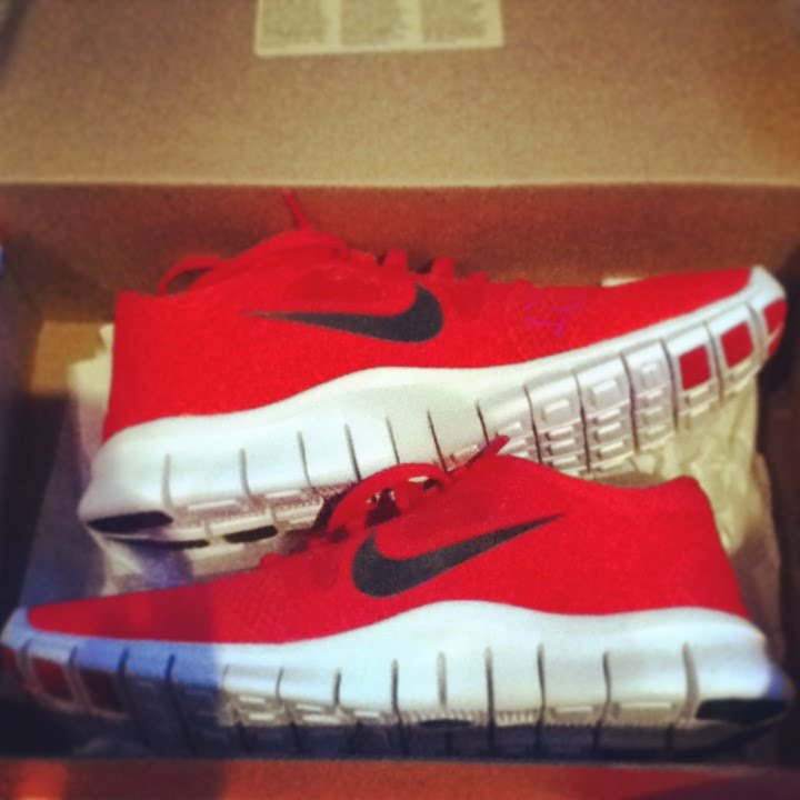 02241651de1d0 UNBOXING  Nike Free Run 5.0    Red Black White   - YouTube