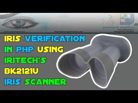 PHP Web Biometric Authentication Demo for Irises