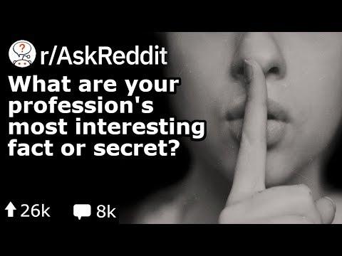 What's Your Job's Best Kept Secret? (Reddit Stories r/AskReddit)