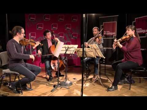 "Mozart : Quatuor n°19 ""Les Dissonances"", par le Quatuor Cambini-Paris"