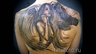 фото готовых татуировок с падшими ангелами для статьи про значение рисунка падший ангел в татуировке