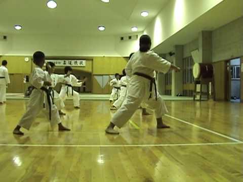 Goju Ryu Class Kin cho Budokan