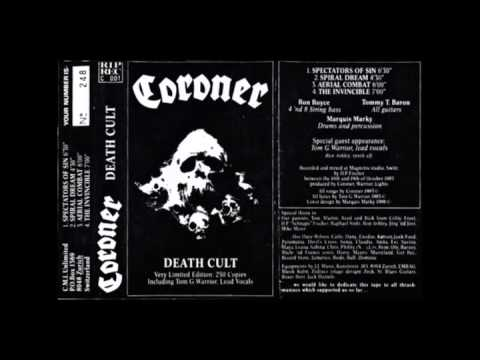 Coroner - Death Cult Demo (1986)