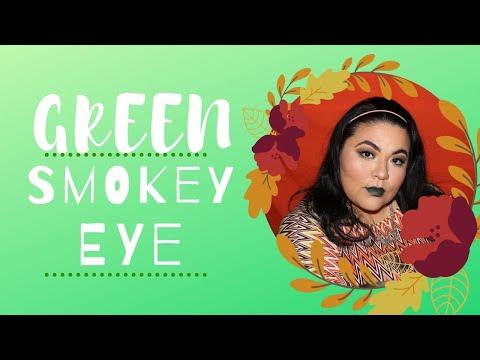🌵GRWM: GREEN SMOKEY EYE 🌵 thumbnail