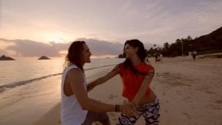 Rẙ+Clö Improv Zouk Dance on the Beach
