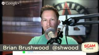 LIVE Scam School Q&A with Brian Brushwood and Justin Robert Young!