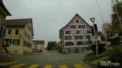CH: Gemeinde Ottenbach. Kanton Zürich. Ortsdurchfahrt. November 2019