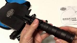 これは便利・多機能シャベル 16種機能 折り畳み スコップ
