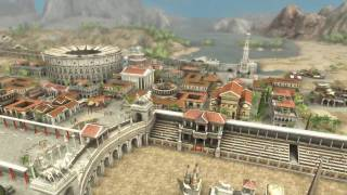 Grand Ages - Rome city building strategy game HD video trailer