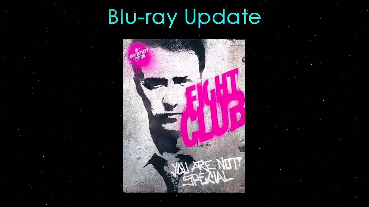 Download Fight Club 10th Anniversary Edition - Blu-ray Update/Review