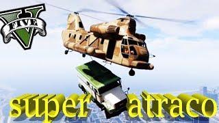 GTA 5 LIFE - ATRACO CON UN CARGOBOB!! - Nexxuz