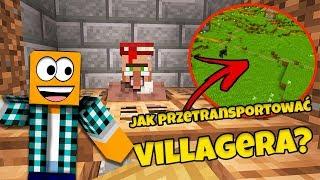 "Minecraft #397 -  ""TRANSPORT VILLAGERÓW? DAJ MENDING!"""