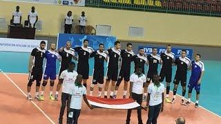 تتويج منتخب مصر للكره الطائره بكأس افريقيا والتأهل لاولمبياد ريو دى جانيرو 2016