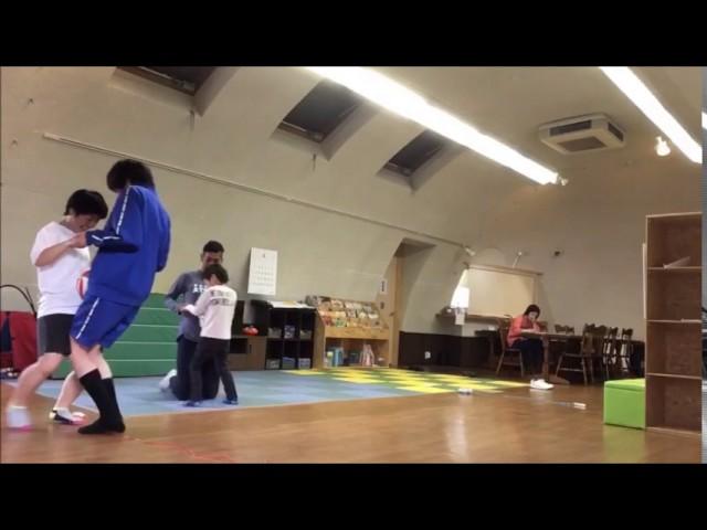 運動の様子 「ボール運び」|すくすくスクール|石川県加賀市|放課後等デイサービス