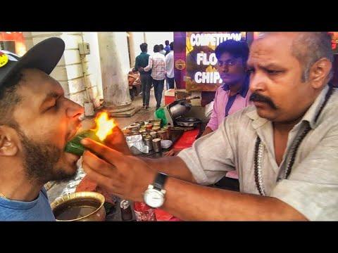 EATING FIRE 🔥 AT DELHI | CONNAUGHT PLACE | PALIKA BAZAAR | KARTHiK SURYA