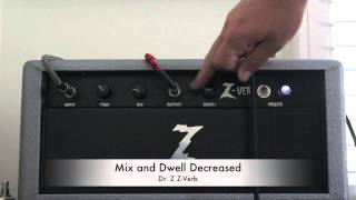 Dr. Z Z-Verb through a Reeves Custom Jimmy 50 Amp