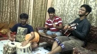 phir mohabbat jamming tabla and bucket cover