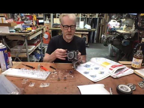 Adam Savage's Live Streams:  Ghostbusters Ecto-1 Kit (Part 3)