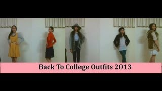 Back To College: Outfits 2013 II Clothed For Winter Thumbnail