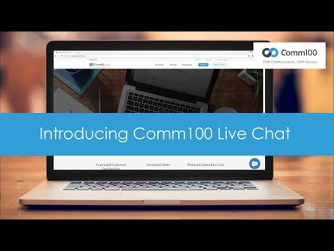 Introducing Comm100 Live Chat