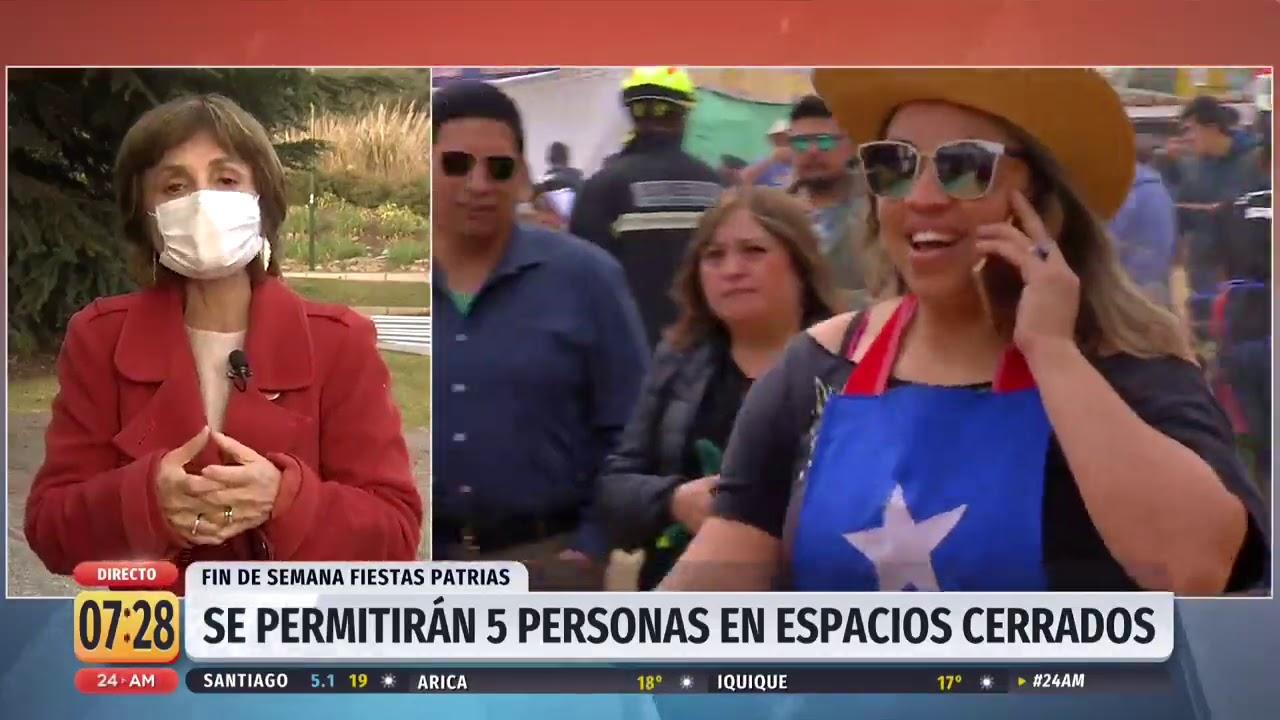 Subsecretaria Daza Y Fiestas Patrias El Toque De Queda Se Adelanta Dos Horas Youtube