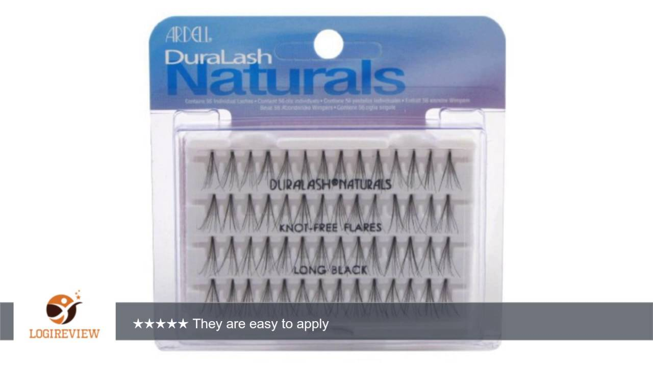 c0d339940fe Ardell Duralash Naturals Flare Long Black (56 Lashes) (Case of 6) |  Review/Test