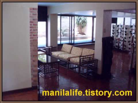 Philippines Manila Makati Bel Air Village House Rent 6Bed 120K - Manila Real Estate