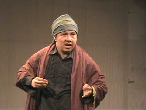 Ron Capinding performs SHYLOCK in Filipino