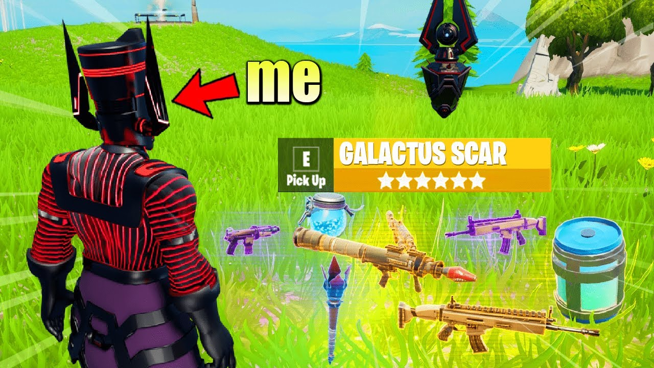 Fortnite Except I can only use GALACTUS LOOT