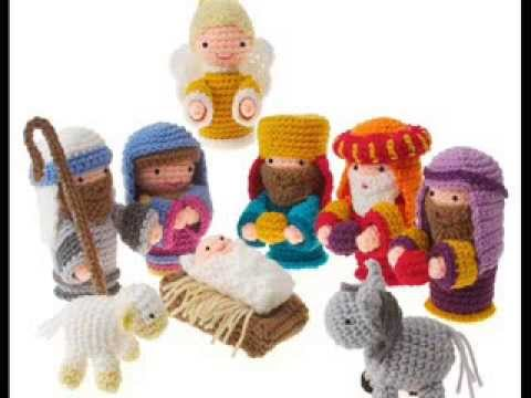 Amigurumi Nativity Crochet Pattern Presentation Youtube