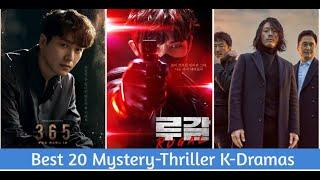 Best 20 Mystery Thriller Korean Dramas Of All the Time