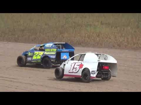 "Salina Speedway 6th Annual ""Mid America Clash"" Auto House Towing Mod lites *Heats* 9-30-18"