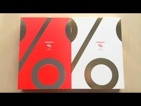 ♡Unboxing Apink 에이핑크 8th Mini Album PERCENT %% 응응 (Red & White Ver.)♡