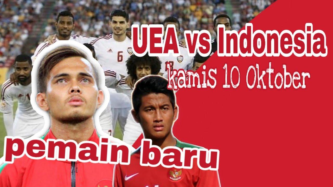 Indonesian vs UEA (kualifikasi piala dunia 2022)